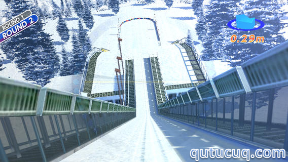 Real Skijump HD ekran görüntüsü
