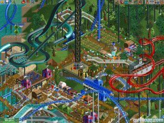 RollerCoaster Tycoon 2 ekran görüntüsü