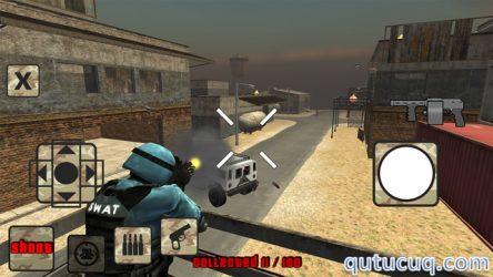 S.W.A.T. Zombie Shooter ekran görüntüsü