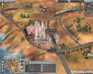 Sid Meier's Railroads ekran görüntüsü