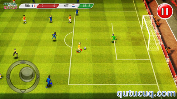 Striker Soccer Euro 2012 Lite ekran görüntüsü