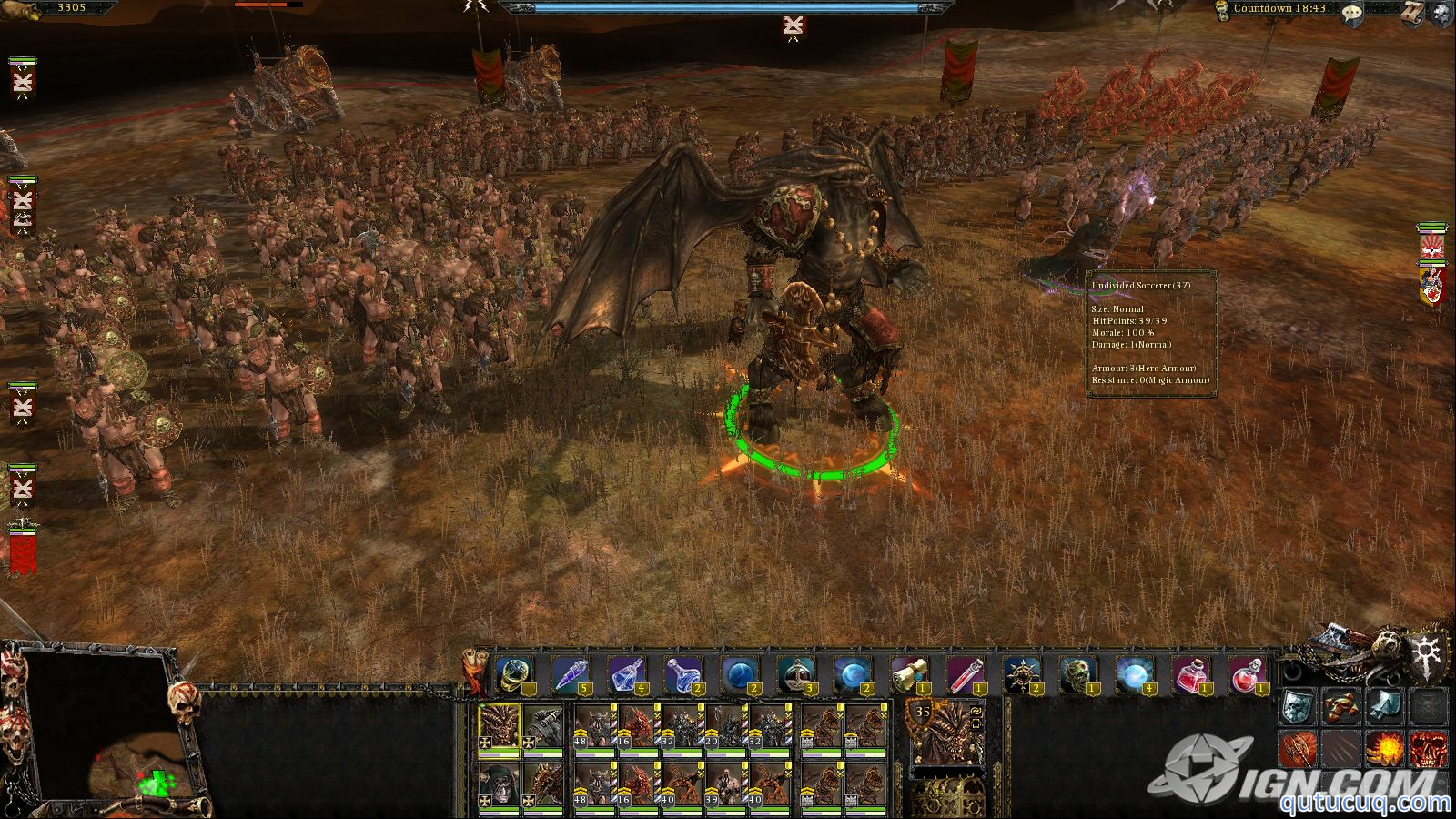 Warhammer: Mark of Chaos ekran görüntüsü