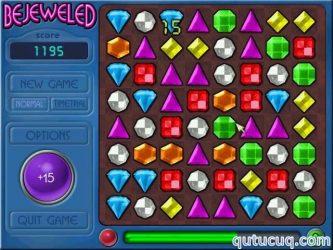 Bejeweled Deluxe ekran görüntüsü