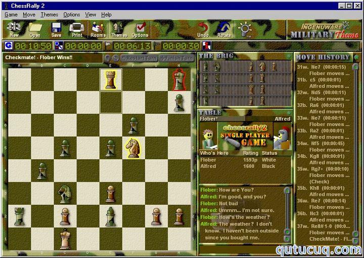 Chess Rally ekran görüntüsü