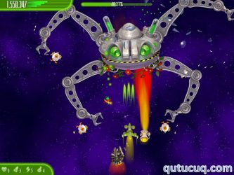 Chicken Invaders 4: Ultimate Omelette ekran görüntüsü