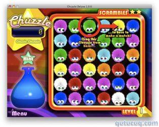Chuzzle Deluxe ekran görüntüsü