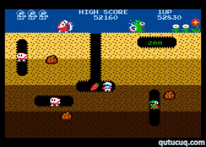 Dig Dug ekran görüntüsü