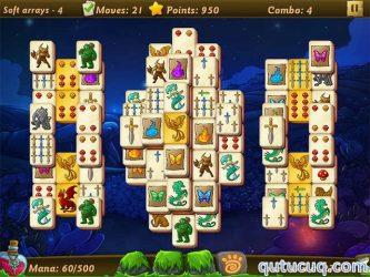Elves vs Goblins Mahjongg World ekran görüntüsü