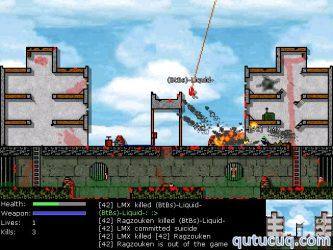 Liero Extreme ekran görüntüsü