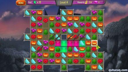Queen's Garden Halloween ekran görüntüsü