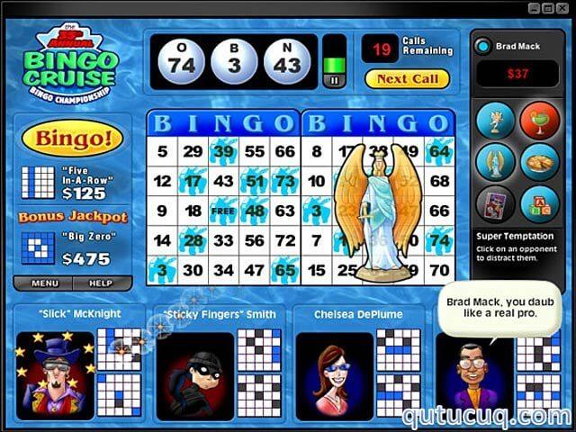 Saints and Sinners Bingo ekran görüntüsü