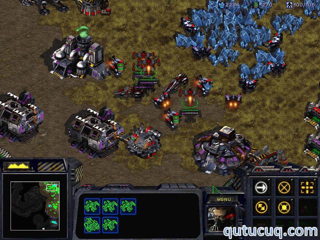 Starcraft ekran görüntüsü