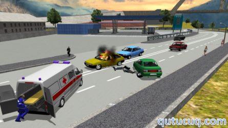 Ambulance Simulator 3D ekran görüntüsü