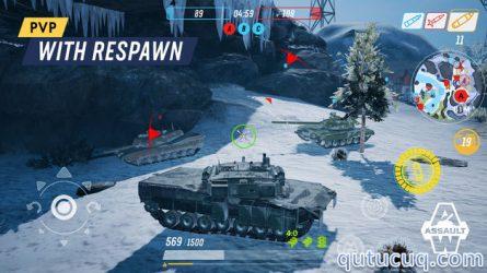 Armored Warfare: Assault ekran görüntüsü