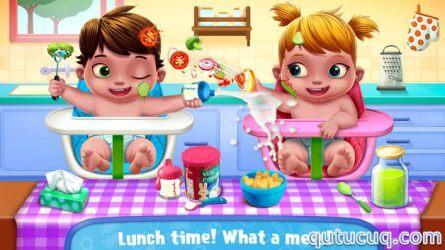 Baby Twins Babysitter ekran görüntüsü