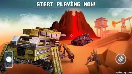 Blocky Cars ekran görüntüsü