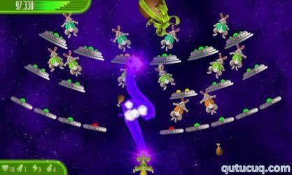 Chicken Invaders 4 Easter ekran görüntüsü