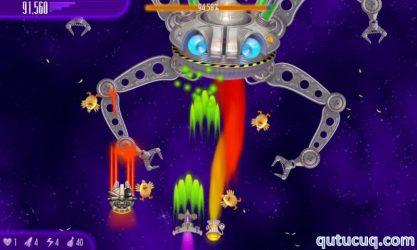 Chicken Invaders 4 ekran görüntüsü