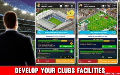Club Soccer Director ekran görüntüsü