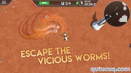 Desert Worms ekran görüntüsü