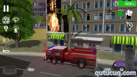 Fire Engine Simulator ekran görüntüsü
