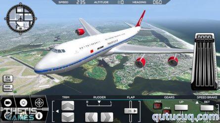 Flight Simulator FlyWings 2014 ekran görüntüsü