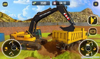 Heavy Excavator Crane ekran görüntüsü
