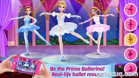 Pretty Ballerina Dancer ekran görüntüsü