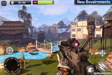 Real Commando Secret Mission ekran görüntüsü