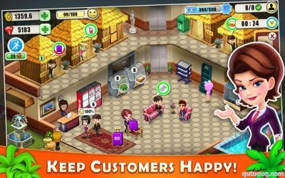 Resort Tycoon ekran görüntüsü