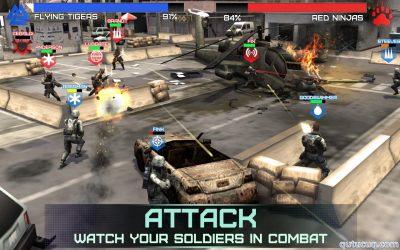 Rivals at War ekran görüntüsü