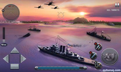 Ships of Battle: The Pacific ekran görüntüsü