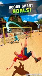 Shoot Goal – Beach Soccer ekran görüntüsü