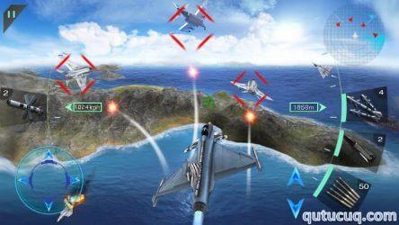 Sky Fighters 3D ekran görüntüsü