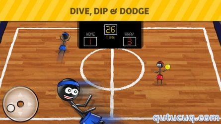 Stickman 1-on-1 Dodgeball ekran görüntüsü