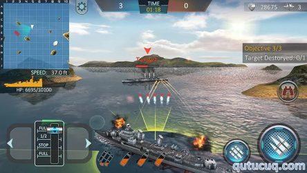 Warship Attack 3D ekran görüntüsü