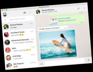 Whatsapp Desktop ekran görüntüsü