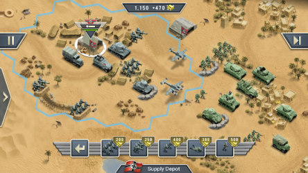 1943 Deadly Desert ekran görüntüsü