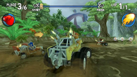 Beach Buggy Racing ekran görüntüsü