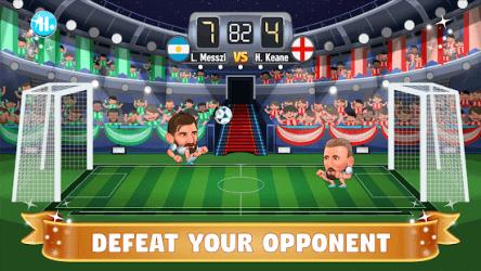 Big Head Soccer ekran görüntüsü