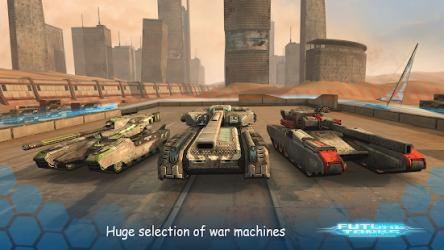 Future Tanks: Action Army ekran görüntüsü
