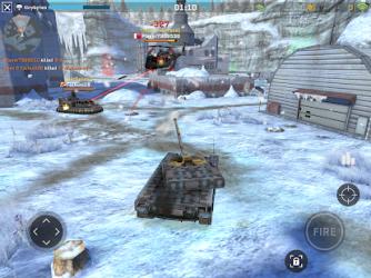 Massive Warfare: Tank & Helicopter Battles ekran görüntüsü