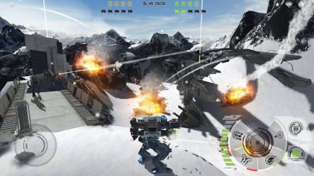 Mech Battle 4e4 hızlı tempolu PVP ekran görüntüsü