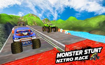 Mega Ramp Monster Truck Racing ekran görüntüsü