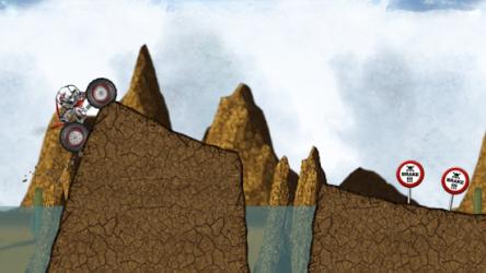 Stickman Downhill Monstertruck ekran görüntüsü