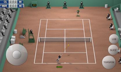 Stickman Tennis ekran görüntüsü