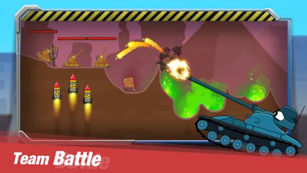 Tank Heroes ekran görüntüsü