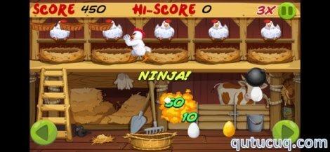 Angry Chicken: Egg Madness! ekran görüntüsü