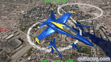 Blue Angels: Aerobatic Flight Simulator ekran görüntüsü