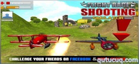 Flight Race Shooting Simulator ekran görüntüsü